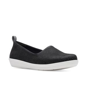 Clarks Ayla Blair Perforated Slip-On Sneakers